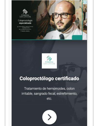 Anuncio display. Medical Media, Marketing Médico